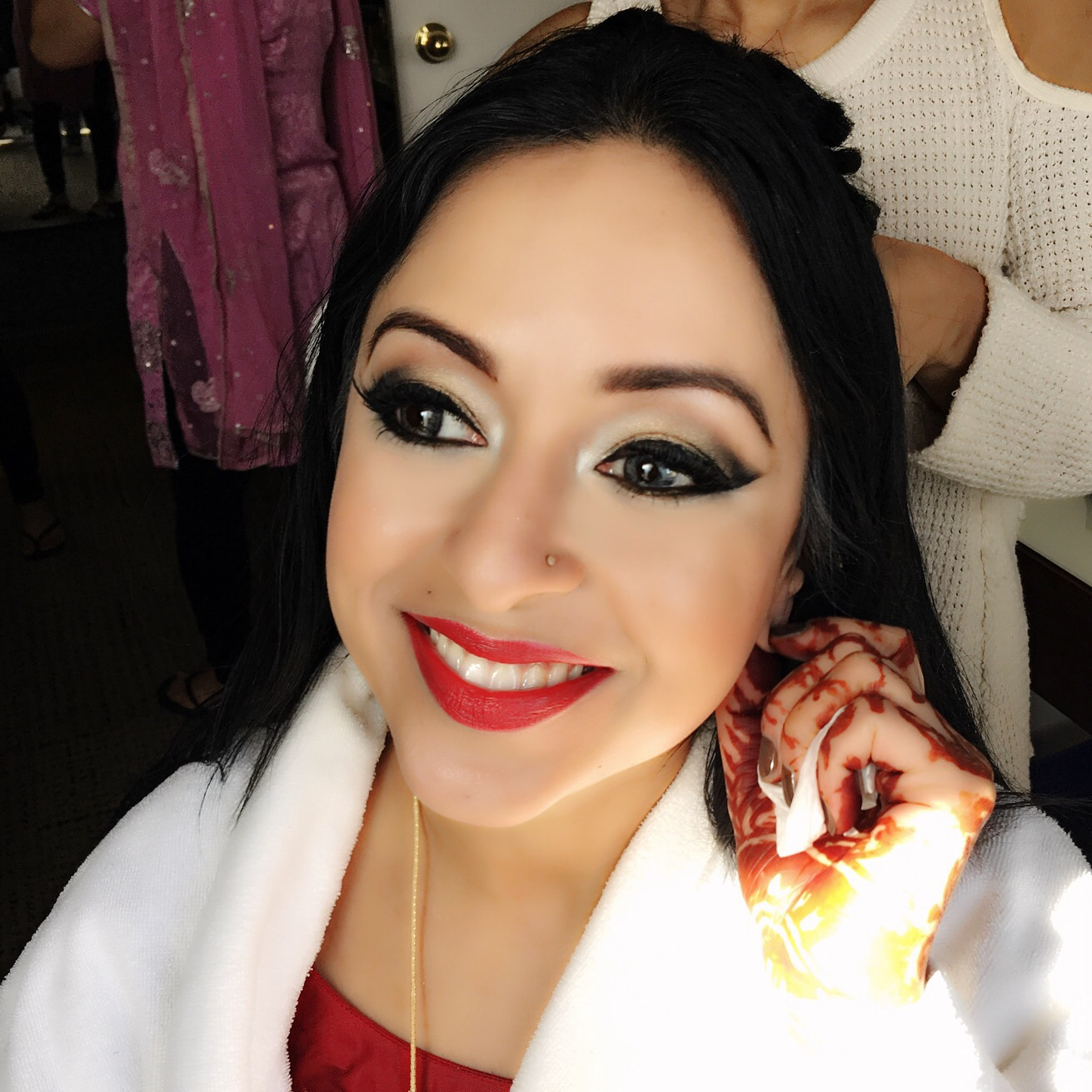 A Glamorous Indian Wedding – Edmonton Wedding Makeup Artist